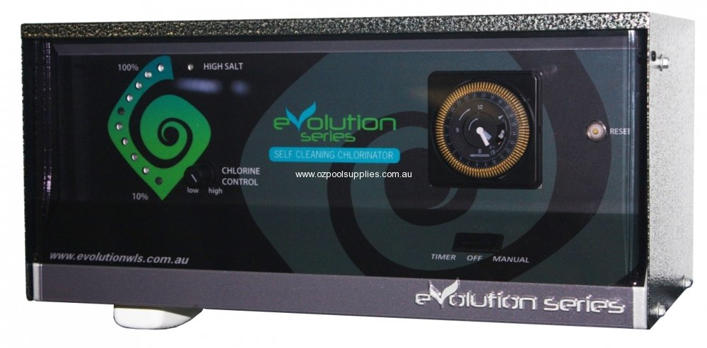 Evolution Series Chlorinator A25ts Reverse Polarity With Timer